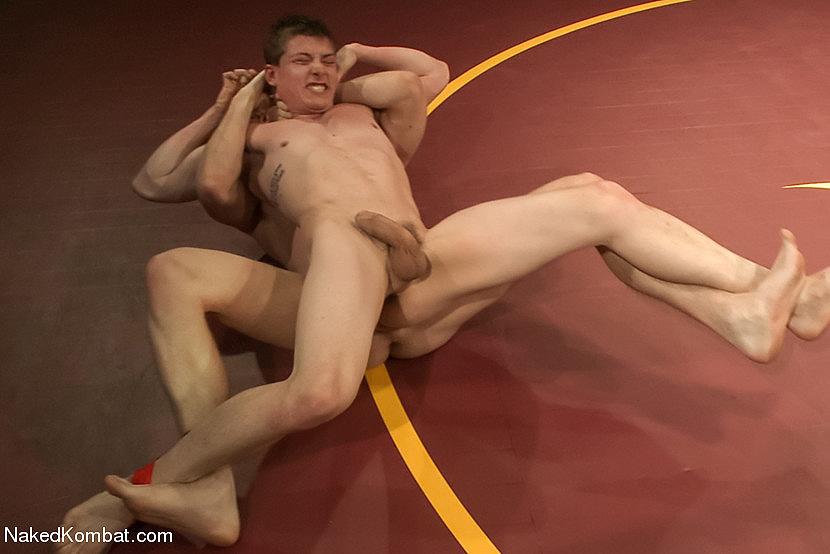 Naked Kombat gay wrestling for stakes