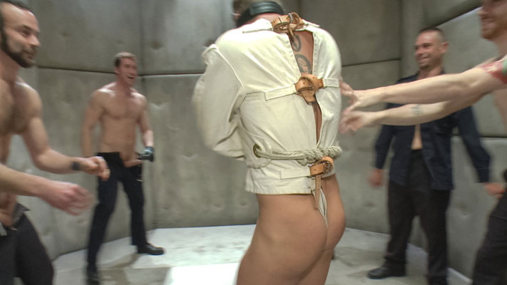Special report: Padded cells and straitjackets in gay bondage porn
