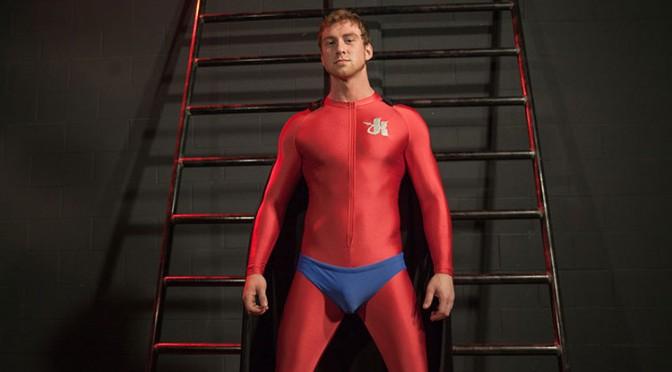 Superhero bondage porn