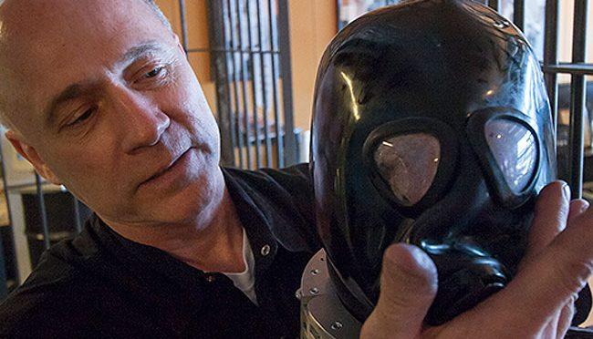 Gas masked