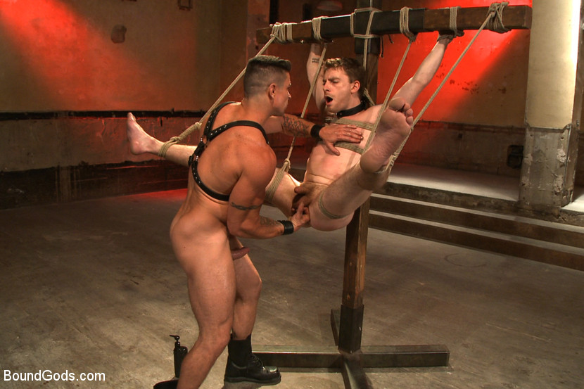 Sexy black bondage gay porn and male picture shitting xxx flogged and