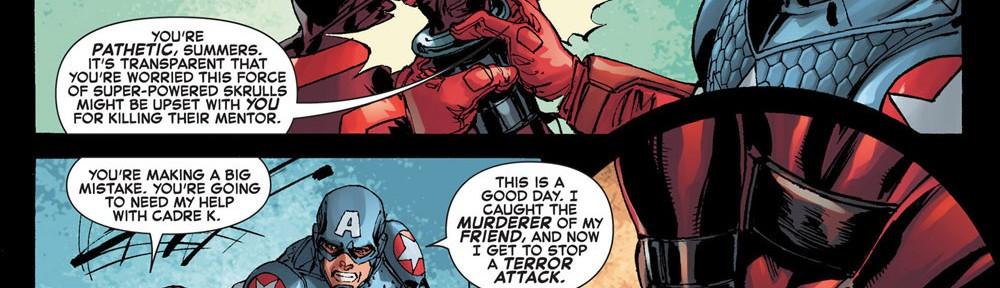 Captain America: Sadistic bondage master