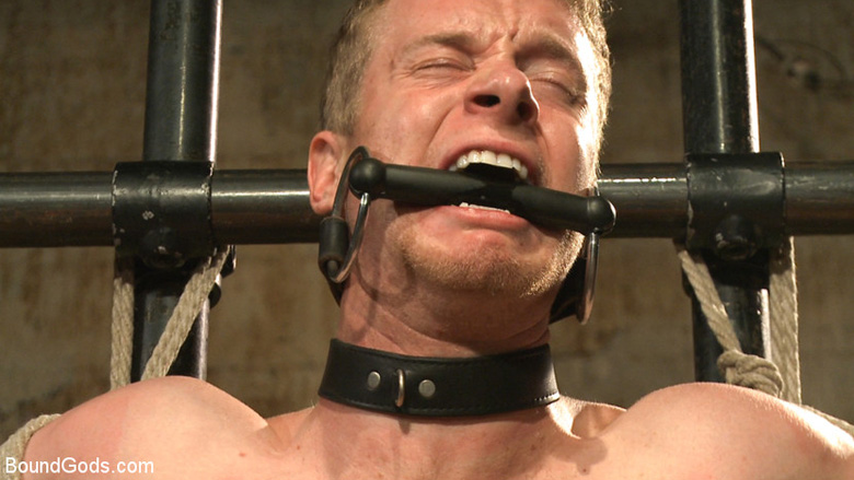 Male bondage: 'You're no longer human today. You're my object!'