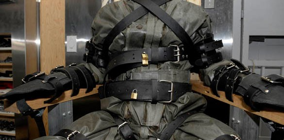 Dr. Mad Max: High-security chair bondage