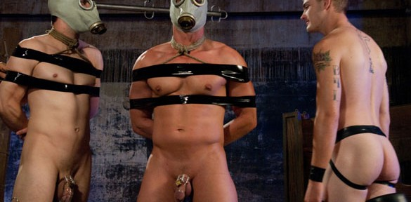 What's better than having a man bound?