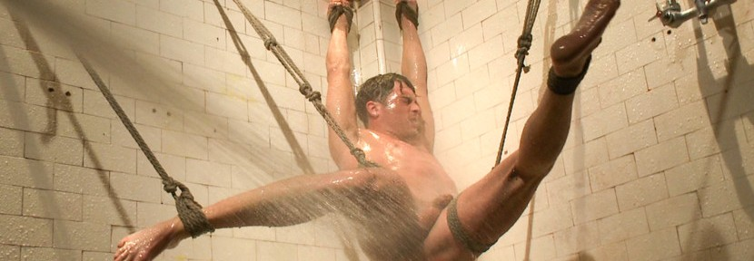 Lance Hart endures The Wall, The Chair and The Water Chamber before he's challenged to blow his load