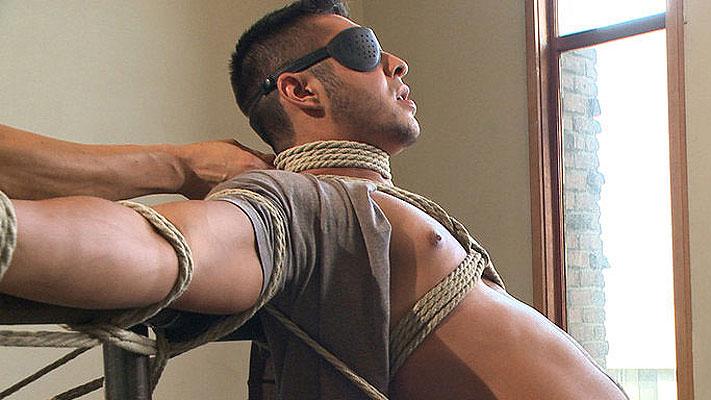 Seth Santoro is relentlessly edged in bondage