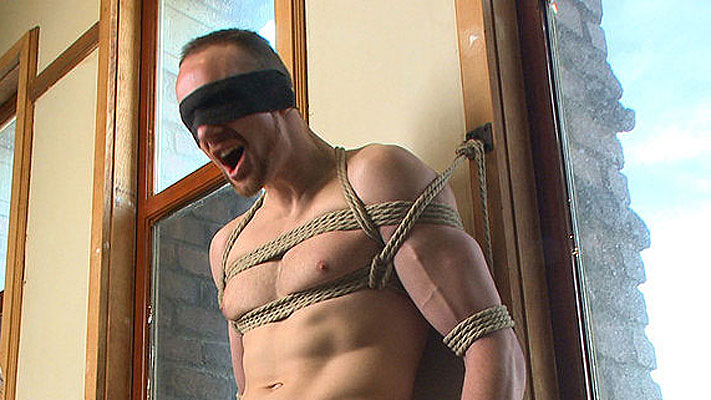 Jimmy Bullet male bondage