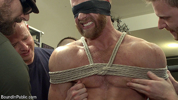Christopher Daniels gets tied up and stuffed full of cock