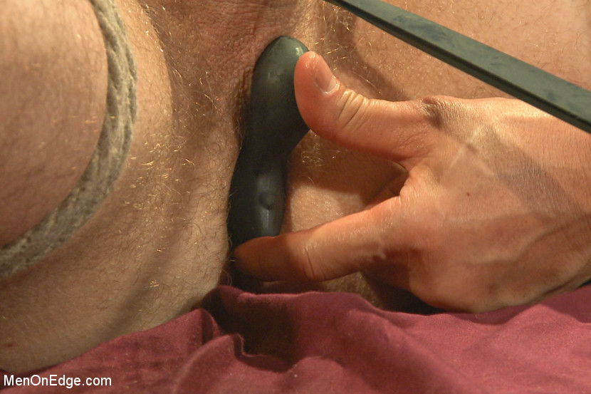 male bondage butt play