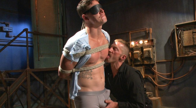 Jed Athens gets bound, beaten and electrified