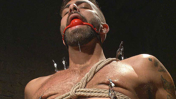 Adam Ramzi male BDSM