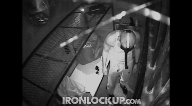 The prisoner is locked up again