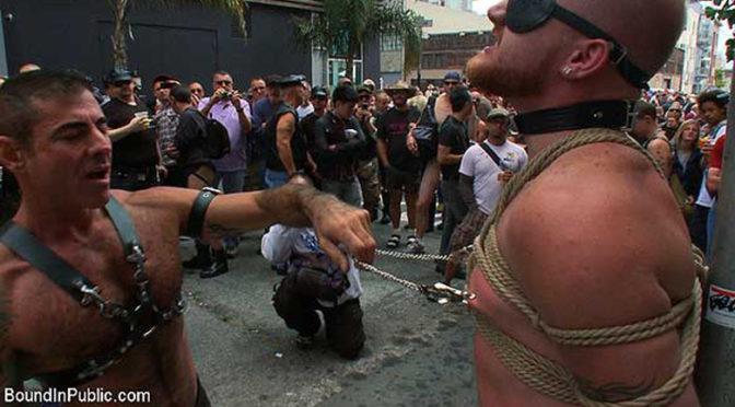 Gay bondage: Dore Alley Pig