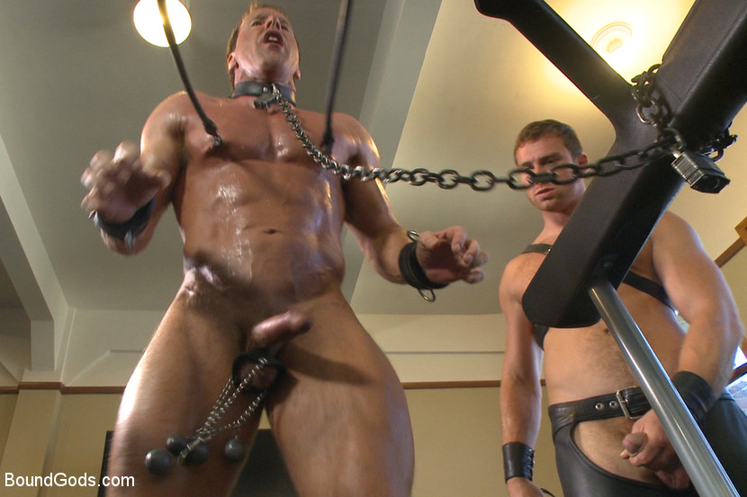 Free gay muscle torture