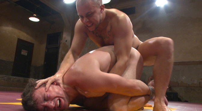 Top Cock: BDSM Series – Eli Hunter and Scott Harbor Take it to the Mat