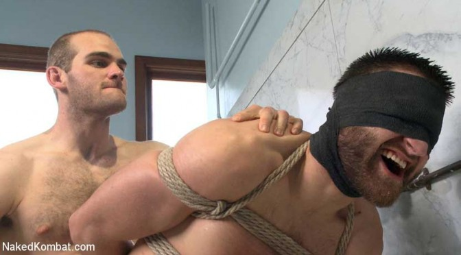 Top Cock: Loser's head is shoved in the urinal and his ass is fucked to submission