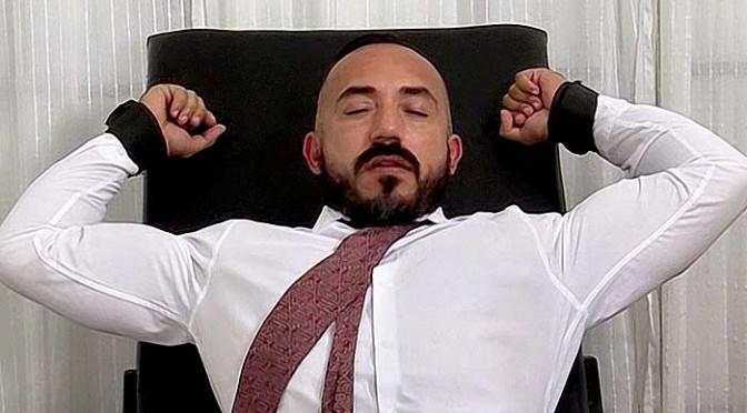 Alessio Romero gets his tickling revenge on Derrick Vinyard