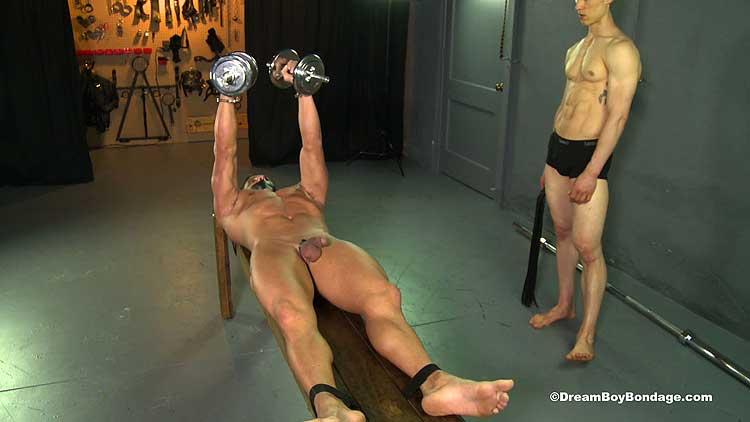 Forced exercise fetish