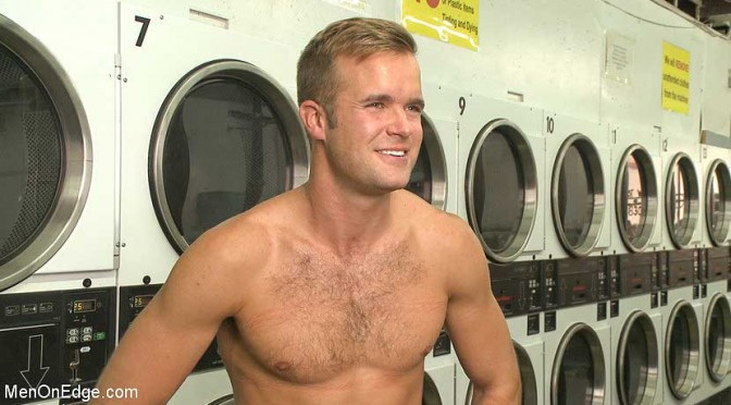 He just wanted to do his laundry …