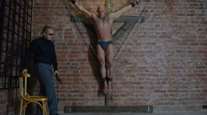 Bdsm crucified males