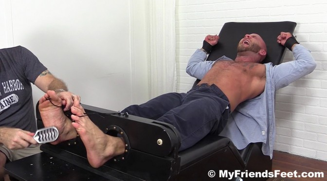 Drake Jaden is super ticklish all over his sexy body