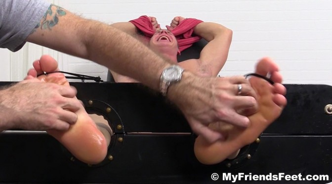 How would you like to be in the My Friends Feet tickle chair?