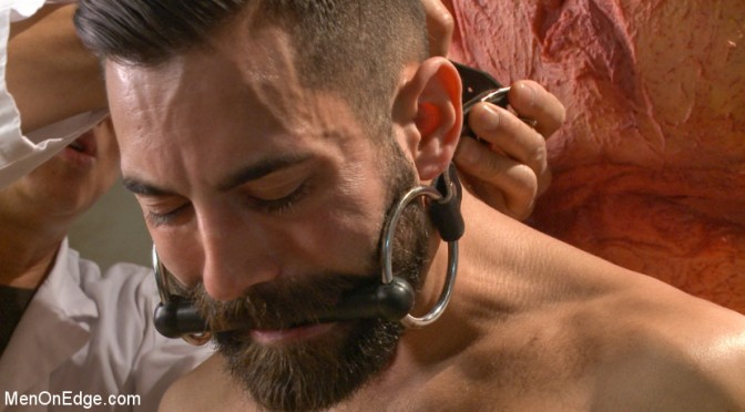 Male bondage porn: Dean Brody and the meat inspection