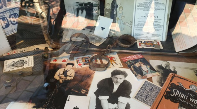 Houdini memorabilia at Disneyland