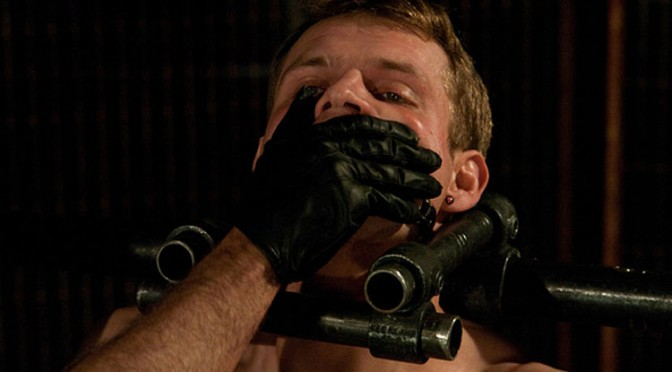 Trent Diesel and Leo Forte are immobilized in metal restraints