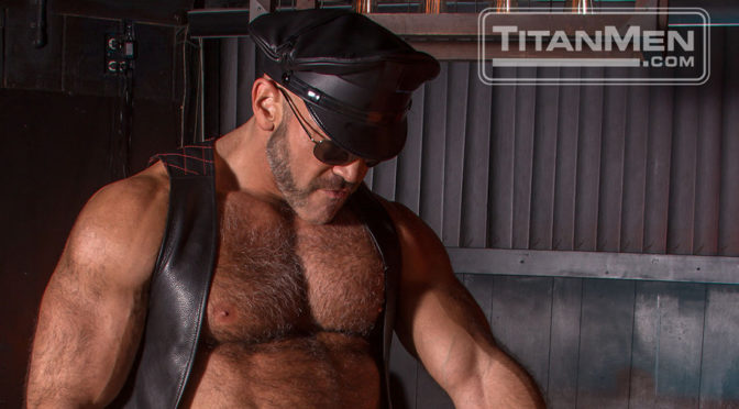 Behind the scenes with Jesse Jackman and Diesel Washington at TitanMen