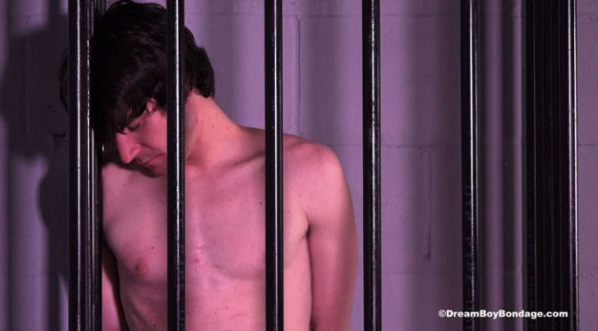 Riley spends the night in a tiny cell