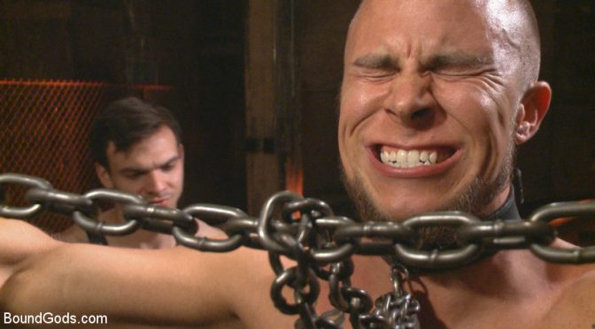Jason Maddox breaks in his slave with psychological torment