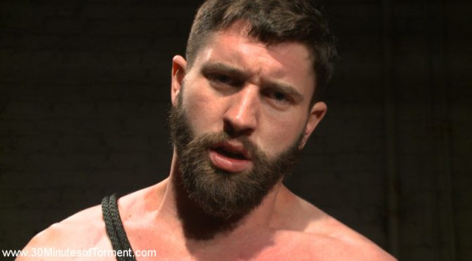 Male BDSM: Jackson Fillmore is tied up, tortured and fucked