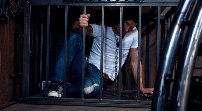 Rusty Stevens is a captive butt slave