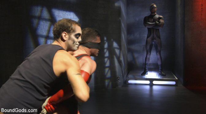 Bondage superhero porn: The Kink Avenger