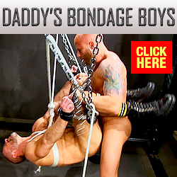 Male BDSM discount code Daddys Bondage Boys