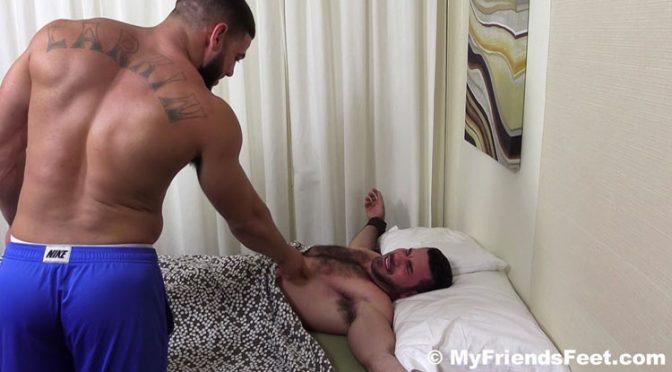 Ricky Larkin Dominates and Tickles Billy Santoro