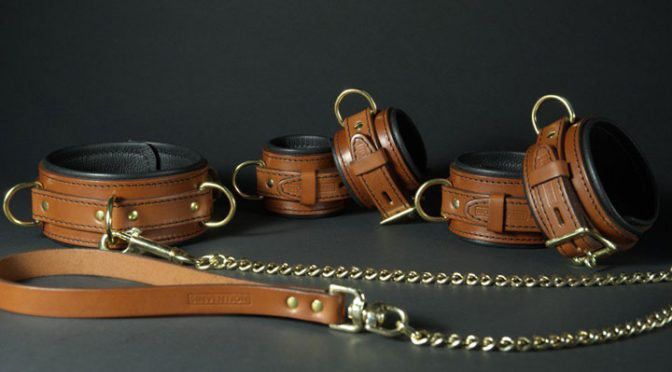 High-quality leather gear and restraints