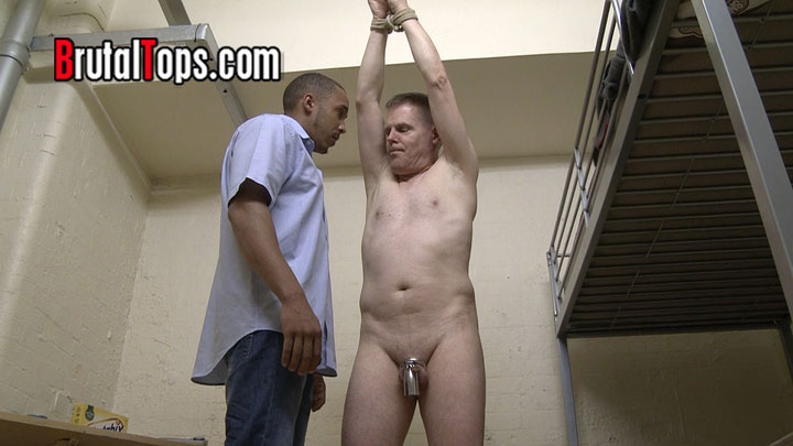 Gay slave in chastity