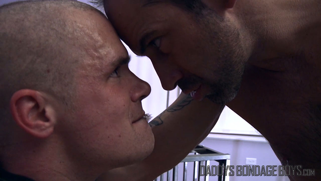 Derek puts Icy Hot on his prisoner's balls