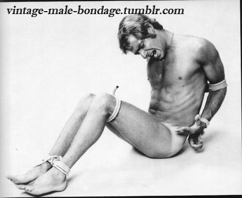 Jack Wrangler tied up
