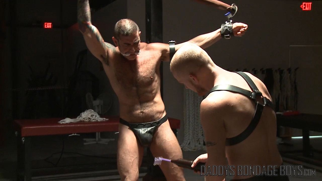 gay male bondage electro torture