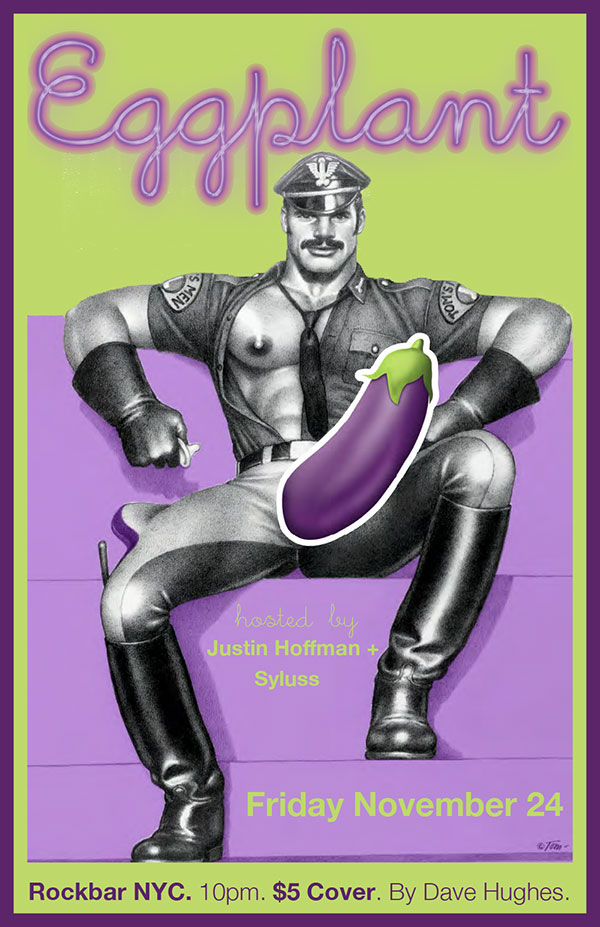 Eggplant Dave Hughes