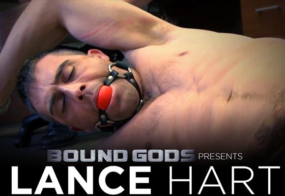 Lance Hart gay bondage