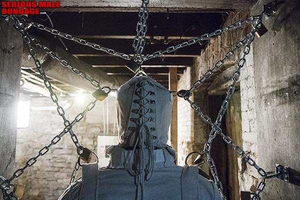 Dr Mad Max bondage straitjacket