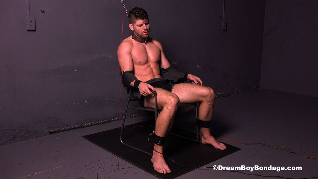 Connor Halsted gets tied up at Dream Boy Bondage