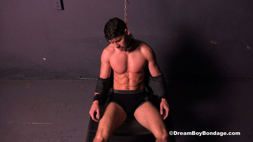 Connor Halsted gay bondage porn