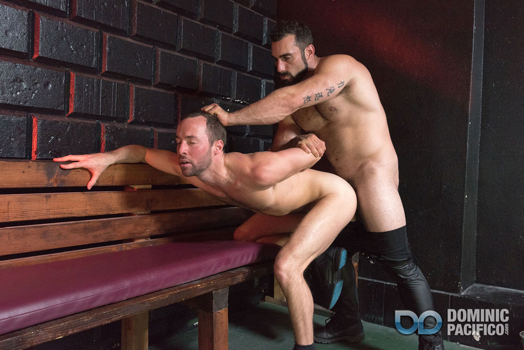 gay leather bondage