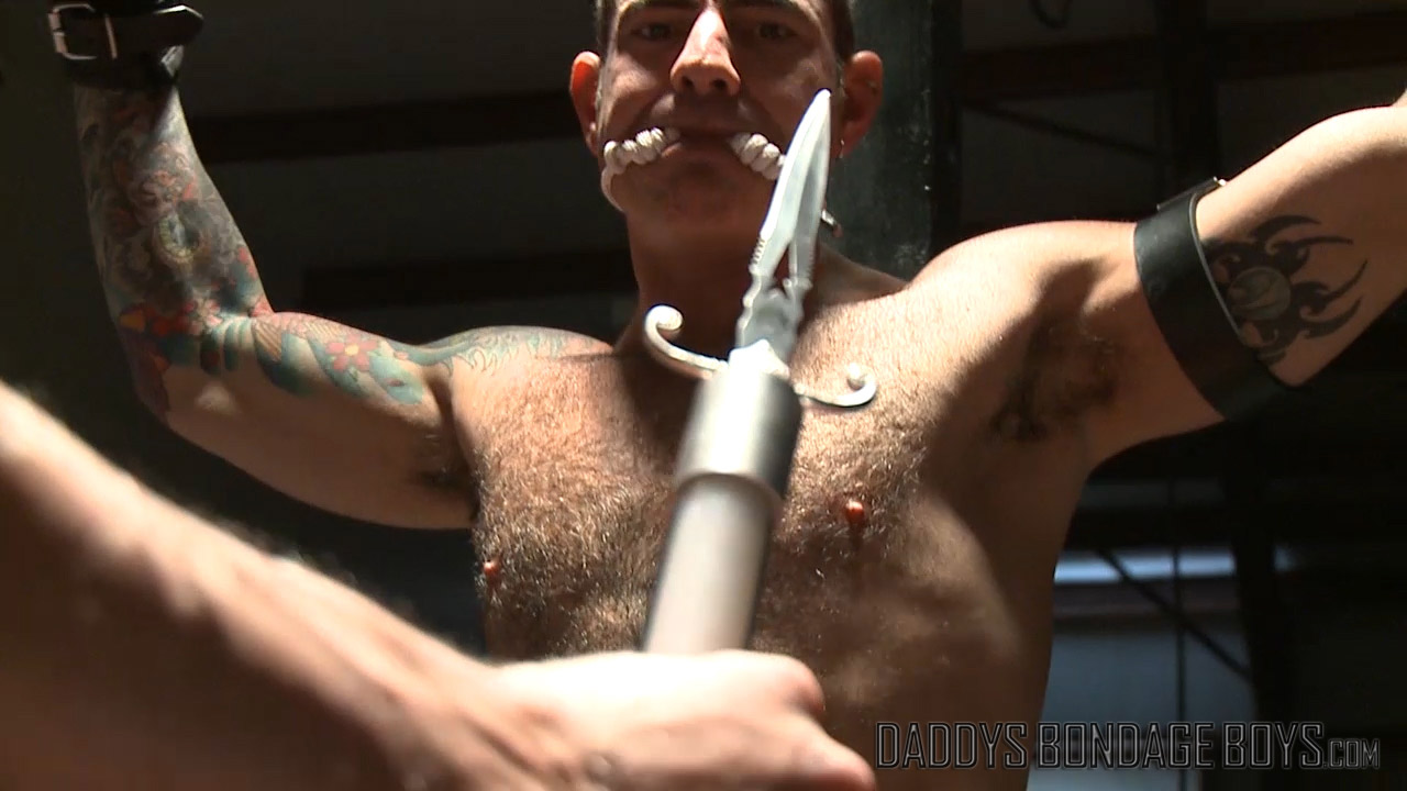 Electro torture with a violet wand